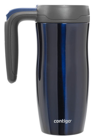 Randolph Stainless Steel Travel Mug 16oz - Blue