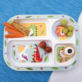 Colorful Creatures Melamine Tray