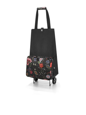 Reisenthel Foldable trolley Folklore Black