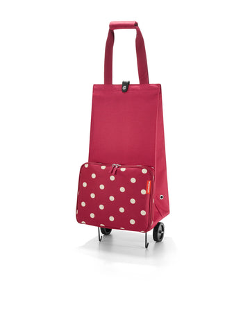 Reisenthel Foldable trolley Ruby Dots