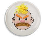 Food Face- Dinner Plate