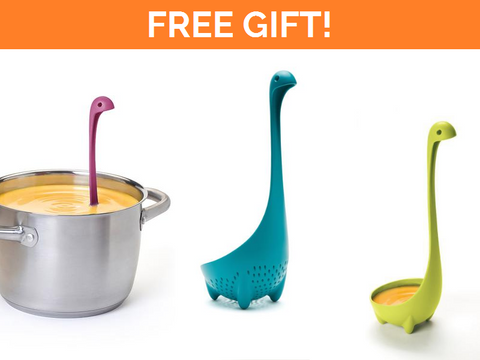 Choose ONE gift - Nessie Ladle/Colander