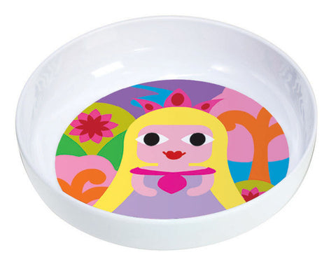 Kids Princess Bowl- Yellow