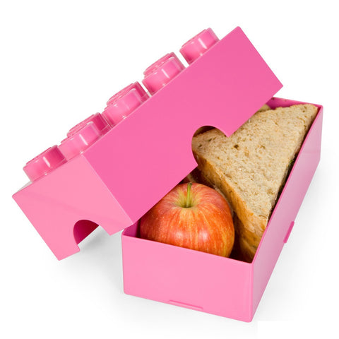 Lego Storage / Lunch Box- Pink