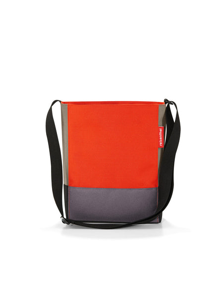 Reisenthel Shoulderbag Patchwork Mandarin