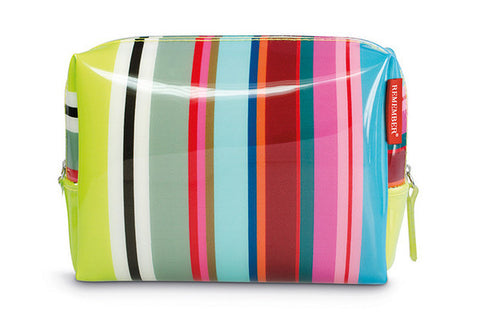 Color Stripes Washbag - Large