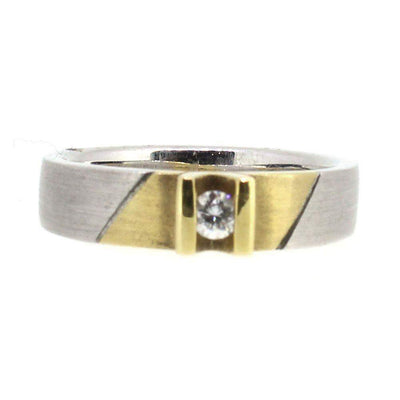 18 Carat Gold and Diamond Ring- 9544-Ogham Jewellery