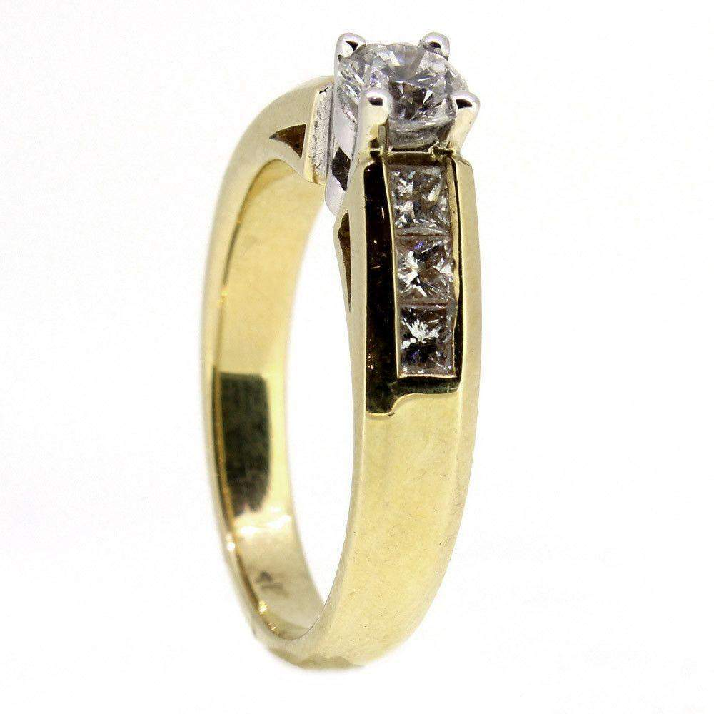 18ct Gold And Diamond Engagement Ring 0.75ct