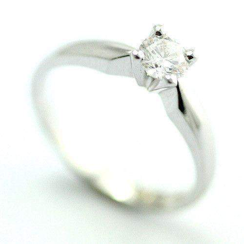 18ct Gold or White Gold Certificated Diamond Engagement Ring - 0.25 - 0.40ct-3603RB