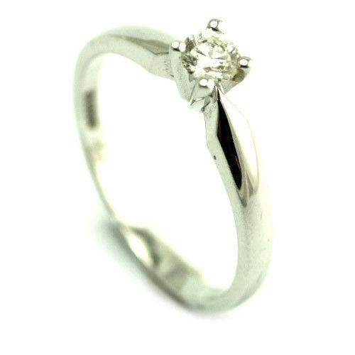 18ct White Gold 0.20ct Diamond Engagement Ring - XYR6731-Ogham Jewellery