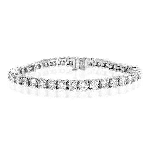 18ct White Gold & Diamond Bracelet - H1117
