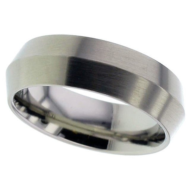 Titanium Wedding Ring - 2222