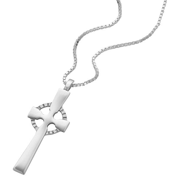 Sterling Silver Cross Pendant - NO295