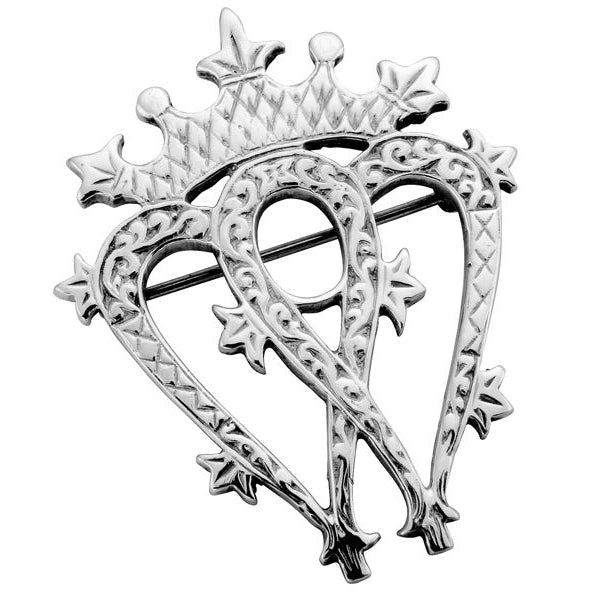 Sterling Silver Luckenbooth Brooch - NO049