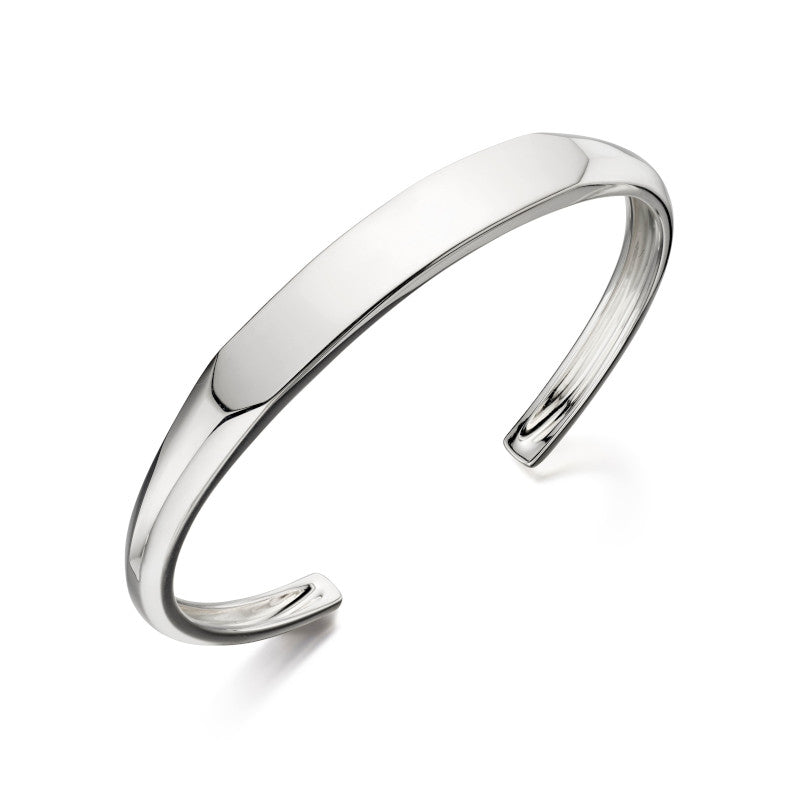 Fred Bennett Sterling Silver Mens Bangle - B4995