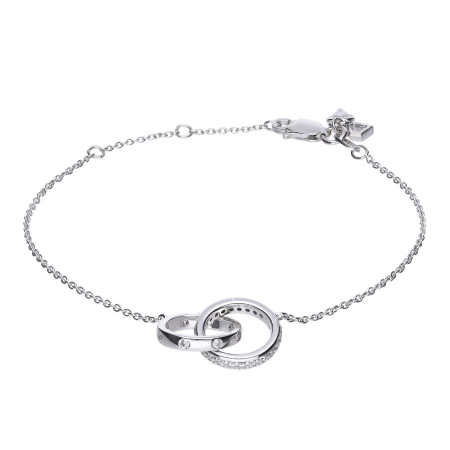 Interlocking Rings Bracelet - B5088