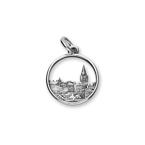 Skyline Sterling Silver Charm - C355