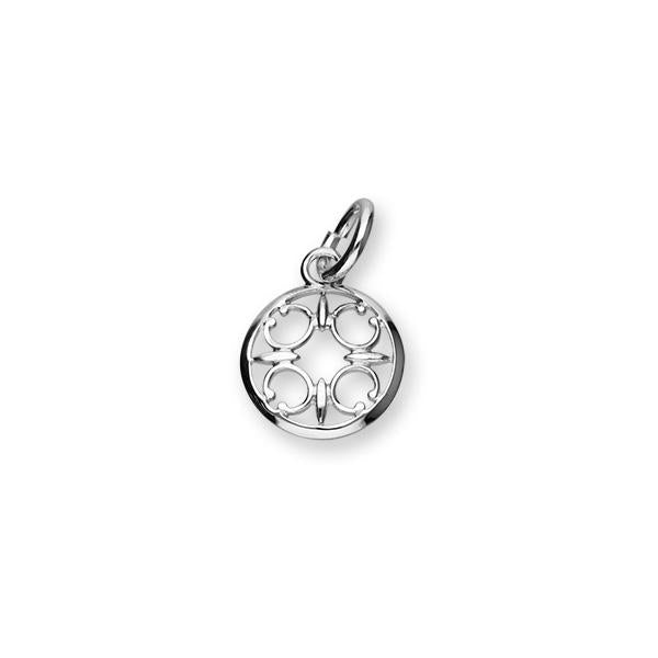 St Magnus Sterling Silver Charm - C363