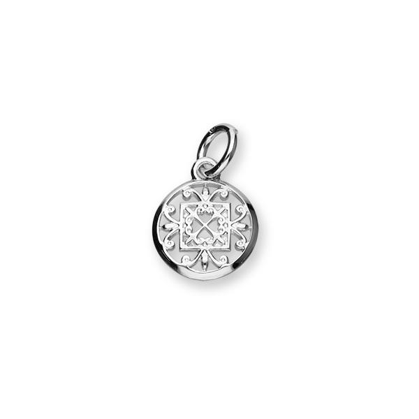 St Magnus Sterling Silver Charm - C364