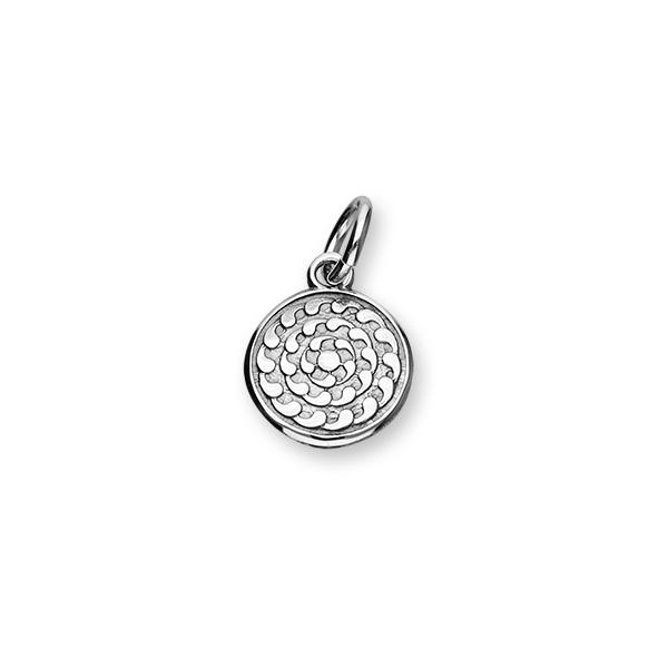 St Magnus Sterling Silver Charm - C365