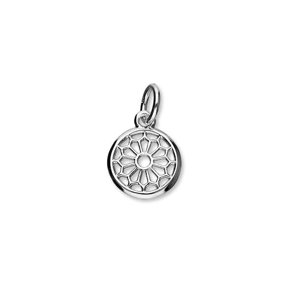 St Magnus Sterling Silver Charm - C366