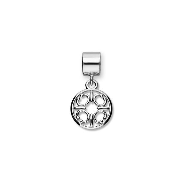 St Magnus Sterling Silver Charm - C371