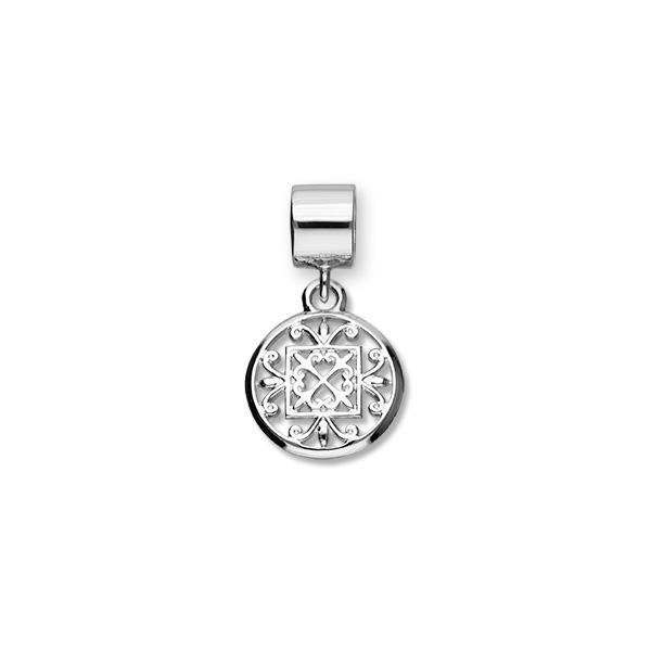 St Magnus Sterling Silver Charm - C372