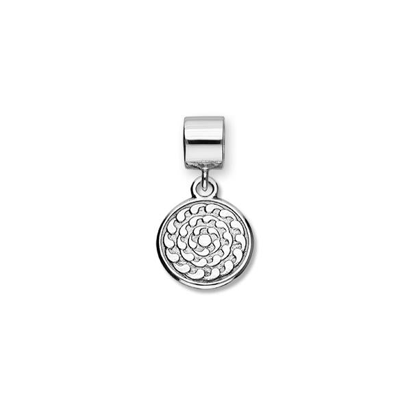 St Magnus Sterling Silver Charm - C373