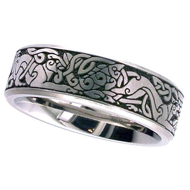 Celtic Titanium Wedding Ring - 2226CH-CD5