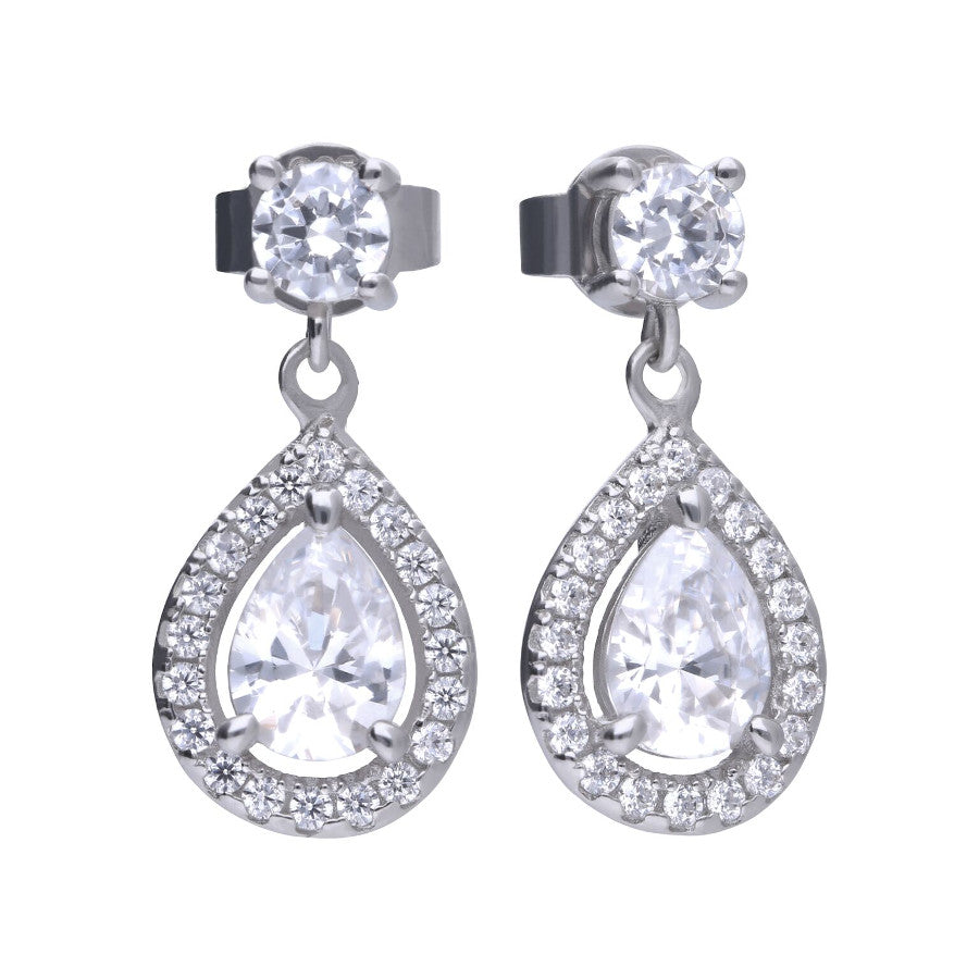 Teardrop Cluster Earrings - E5594