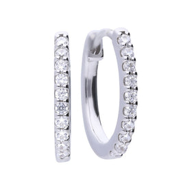 Eternity Creole Hoop Earrings - E5609