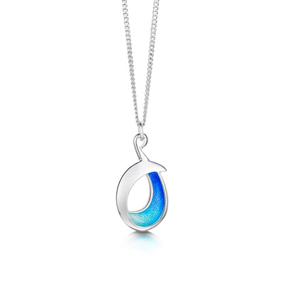 Sea and Surf Sterling Silver Pendant - EP0237