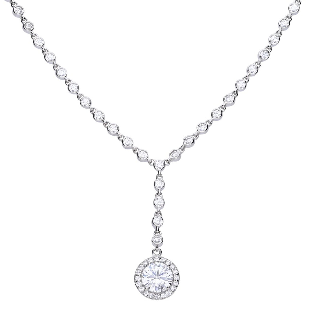 Round Cluster Necklace - N4233