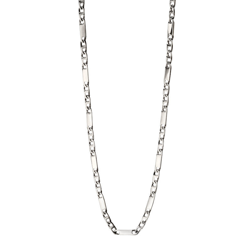Fred Bennett Bar Chain Stainless Steel Necklace - N4281