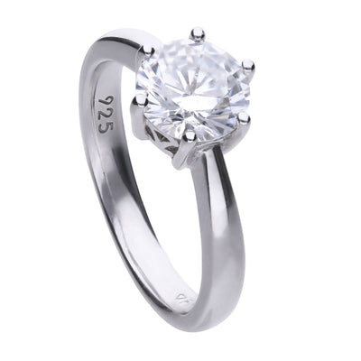 Claw Set 2 Carat Solitaire Ring - R3622