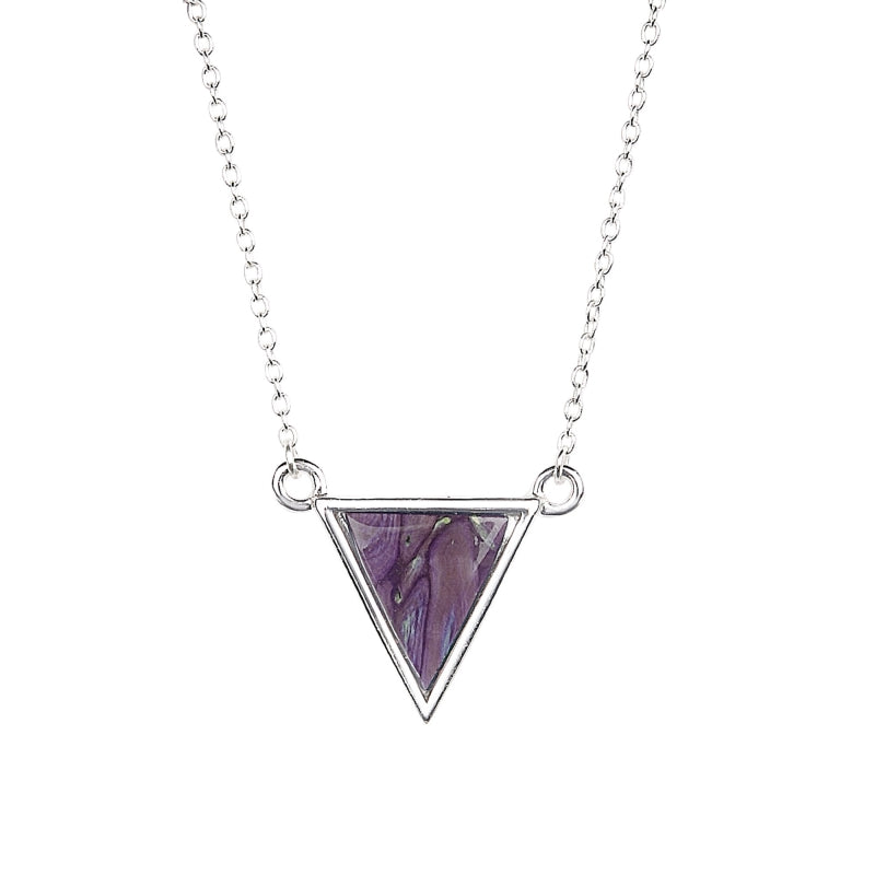 Heather Neuk Triangle Necklace - SP436