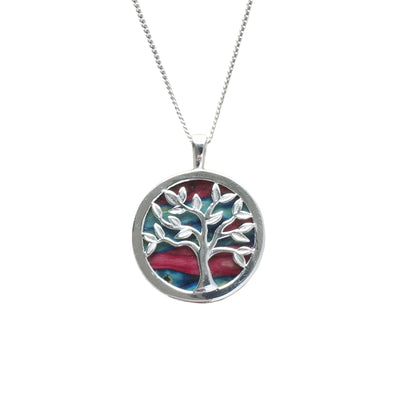 Heather Silver Tree of Life Pendant - SP437