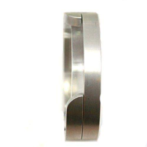 Aluminium Mens Bangle-Ogham Jewellery