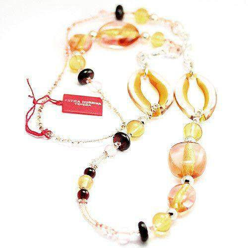 Antica Murrina Aleseo Glass Necklace C0705A-Ogham Jewellery
