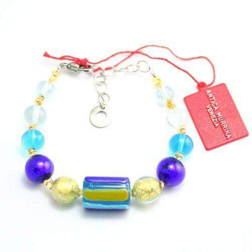 Antica Murrina Murano Dakar Glass Bracelet - BR577A-Ogham Jewellery