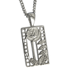 Cairn Sterling Silver Mackintosh Pendant - P401-Ogham Jewellery