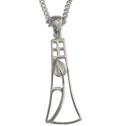 Cairn Sterling Silver Mackintosh Pendant - P630-Ogham Jewellery