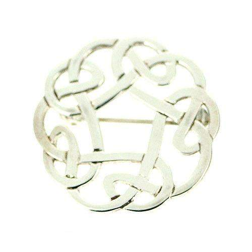 Celtic Silver Brooch - B71-Ogham Jewellery