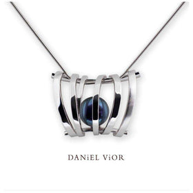 Daniel Vior Asir Coloured Pearl Necklace - 766291-Ogham Jewellery