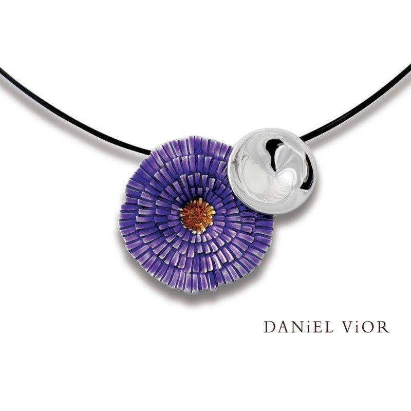 Daniel Vior Basia Solaris Enamelled Necklaces - 766104-Ogham Jewellery