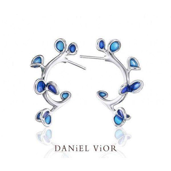 Daniel Vior Branca Designer Earrings - 736571-Ogham Jewellery