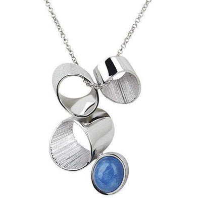 Daniel Vior Sterling Silver Designer Necklace - 766560-Ogham Jewellery