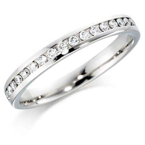 Diamond Eternity Ring Available in Various Metals 0.78ct - ET503BN