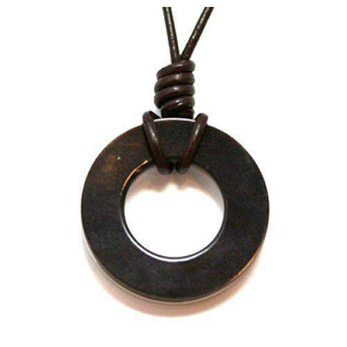 Dyberg Kern Circle Resin Pendant 14919-Ogham Jewellery