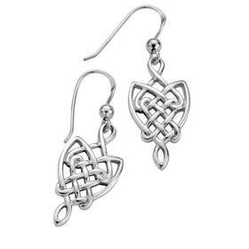 Sterling Silver Celtic Earrings - E064
